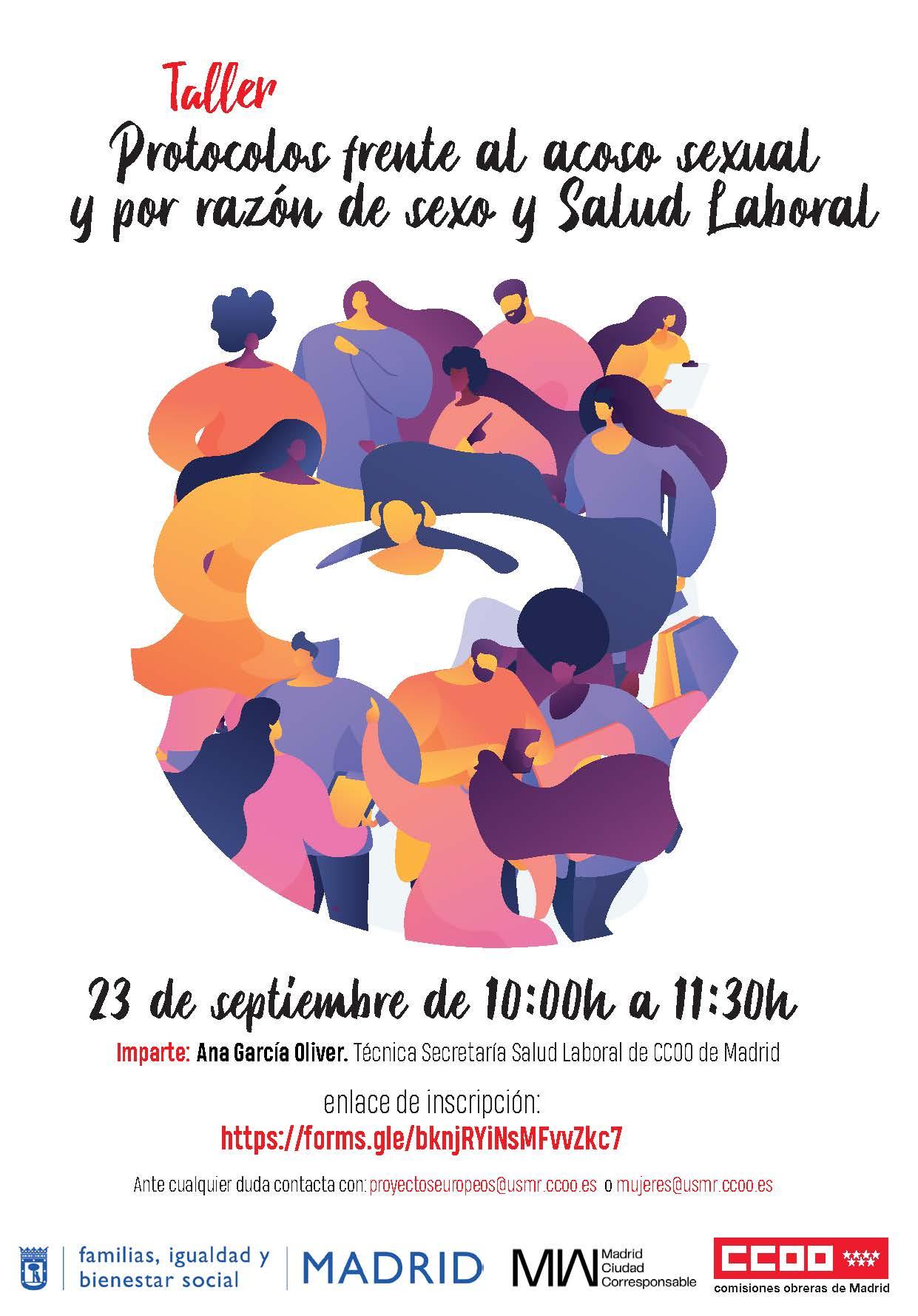 TALLER PROTOCOLOS ACOSO SEXUAL Y POR RAZÓN DE SEXO Y SALUD LABORAL_23_09_2021